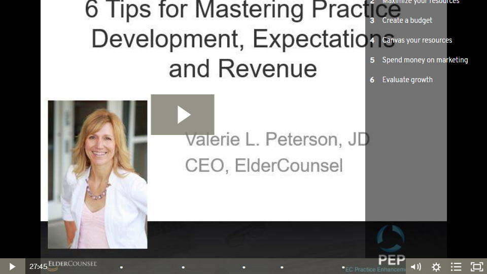 6 Tips For Mastering Practice Development, Expectations And Revenue