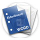 ElderDocx Word Icon