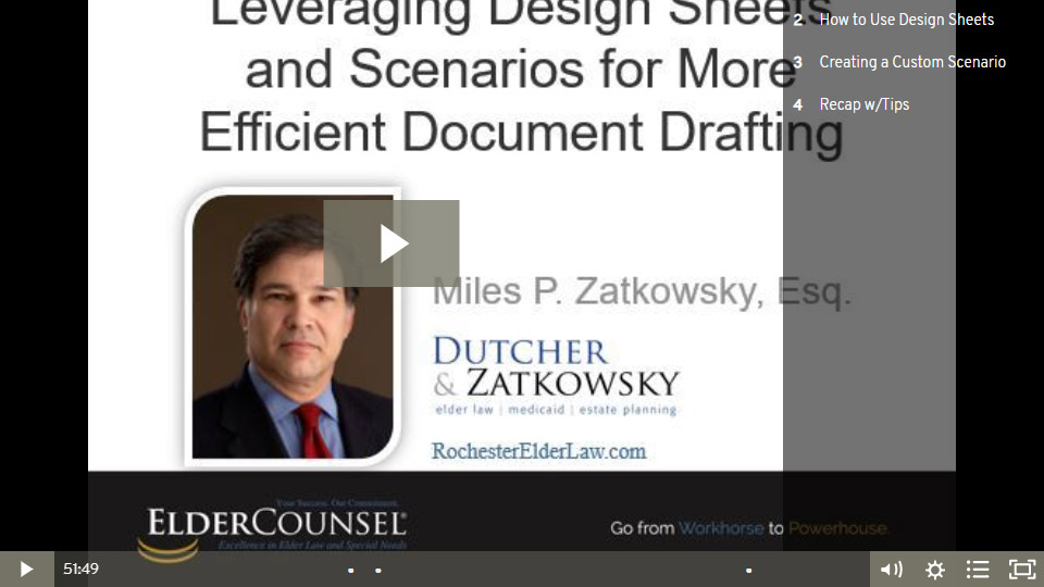 Leveraging Design Sheets And Scenarios For More Efficient Document Drafting