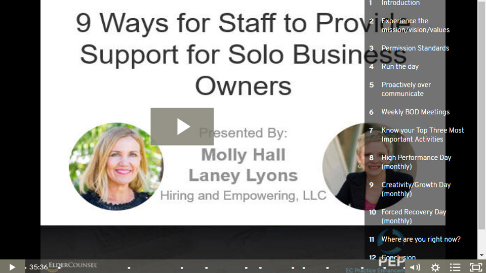 9 Ways For Staff To Provide Support For Solo Business Owners