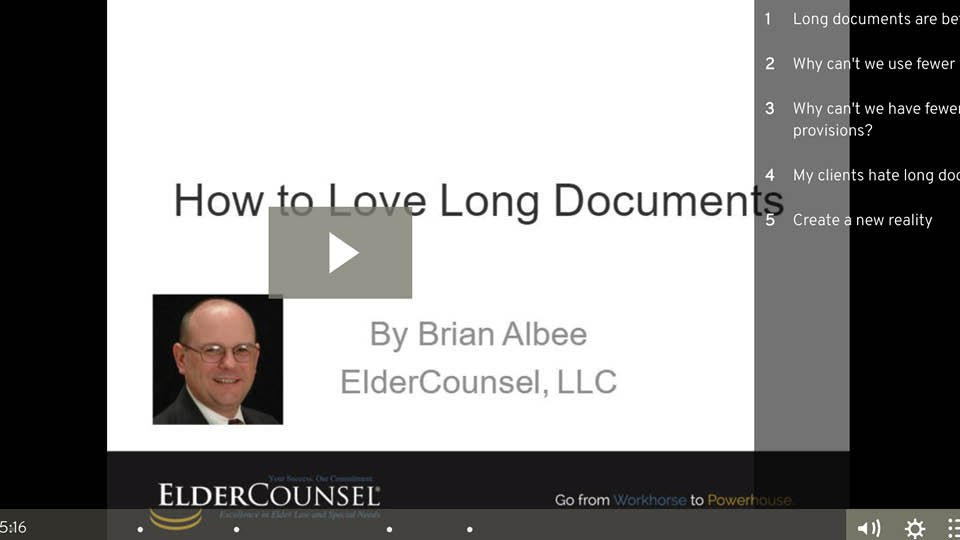 How To Love Long Documents