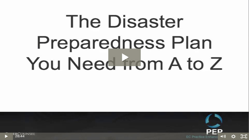 The Disaster Preparedness Plan You Need From A To Z