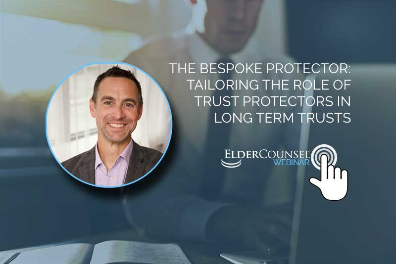 The Bespoke Protector: Tailoring the Role of Trust Protectors in Long Term Trusts