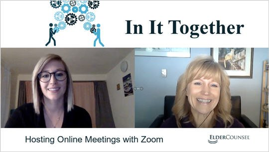 In It Together: Hosting Online Meetings with Zoom