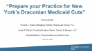 Prepare Your Practice For NY's Draconian Medicaid Cuts